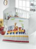 Lenjerie de pat pentru copii, Victoria, 121VCT2005, Multicolor