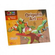 Arta origami MomKi 4 planse