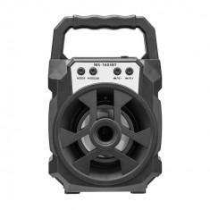 Boxa Portabila 25W PMPO MS-1603BT cu Radio FM, lumini si maner