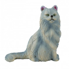 Pisica Persana-sezand S Collecta, 5 x 4 cm