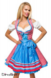 Rochie Oktoberfest 37 Albastru