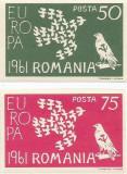 Spania/Romania, Exil romanesc., em. a XXV-a, Europa 1961, nedant., 1961, MNH, Nestampilat