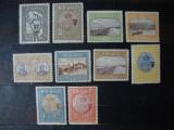 ROMANIA 1913 SILISTRA SERIE COMPLETA MH/MNH, Nestampilat