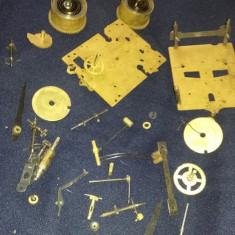 Angrenaj vechi ceas de perete dezmembrat,mecanism vechi ceas pendul ORIGINAL,T.G