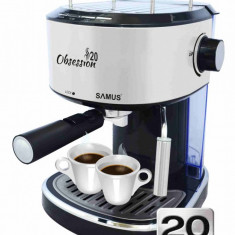 Espressor cafea Samus Obsession 20 1.2 litri 20 Bari 850W Negru / Inox