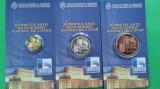 Set BNR NATO, Moneda 100 lei Aur 6.45 gr., 5 lei Argint o uncie și 1 leu Tombac