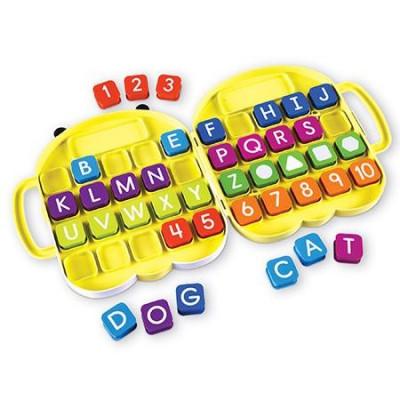 Alphabee - Set invatare litere si cifrele din mers foto