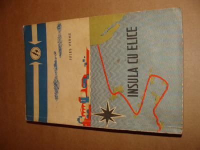Jules Verne - Insula cu elice foto
