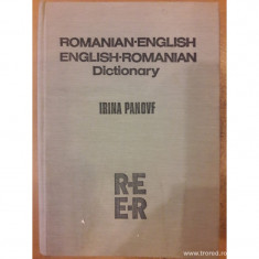 Romanian-english english-romanian dictionary