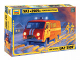 1:43 UAZ 3909 FIREFIGHTER CAR 1:43