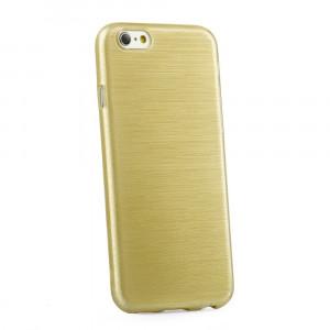 Husa APPLE iPhone 5\5S\SE - Luxury Brush TSS, Auriu