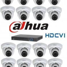 Kit Supraveghere Video 1Megapixel Interior HD-CVI Dahua S3