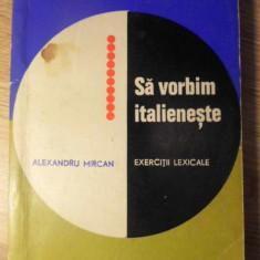 SA VORBIM ITALIENESTE. EXERCITII LEXICALE - ELEXANDRU MIRCAN