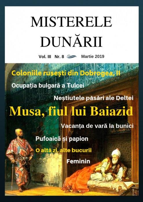 Misterele Dunării, nr. 8 (format .pdf)