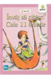 Invat sa citesc! Nivelul 1 - Cele 11 lebede - H.C. Andersen