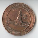 Medalia ALBA IULIA - 1 DECEMBRIE 1918 - ANIVERSAREA MARII UNIRI