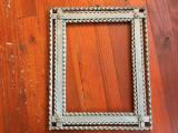 Arta / Design - Veche rama taraneasca din lemn pentru oglinda sau fotografii !