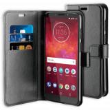 Cumpara ieftin Husa Telefon Wallet Case Motorola Moto Z3 Play Black BeHello