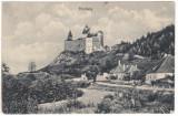 # 2444- Romania, Bran, Tőrcsvár carte postala necirc. 1918: Conacul Tőrzburg
