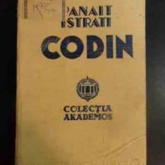 Codin - Panait Istrati ,546552