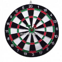 Joc Darts si Tinta 30cm 83010 cu 4 Sageti si doua Fete