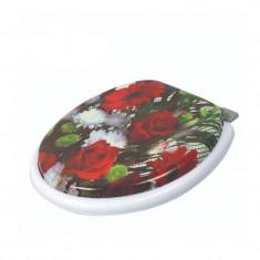 Capac WC plastic buretat Zilan, universal