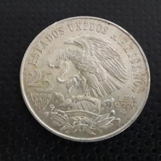 25 pesos 1968 argint