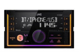 Player auto JVC KWX830BT, 4 x 50W, Aux-in, Bluetooth, USB, Iluminare taste (Negru)