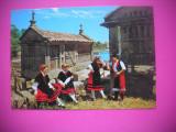 HOPCT 78399 COSTUME TRADITIONALE DIN GALICIA- SPANIA-NECIRCULATA