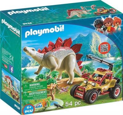 Jucarie Playmobil Explorer Vehicle Stegosaurus foto