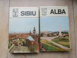 ALBA si SIBIU-Monografii din colectia Judetele Patriei 1981.