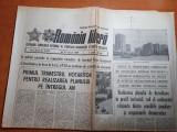 Romania libera 12 ianuarie 1989-art.orasul bacau,santierul metroului bucurestean