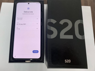 Samsung S20 cutie ca nou dual sim foto