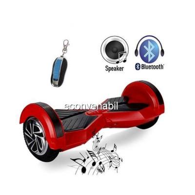 Mini Scuter Electric Hoverboard Scooter tip Segway cu Bluetooth foto