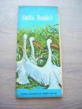 myh 63 - 25 - HARTA TURISTICA - DELTA DUNARII - 1980 - PIESA DE COLECTIE
