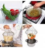 Set 2 cosuri Chef Basket pentru clatirea, prajirea, fierberea sau oparirea alimentelor!