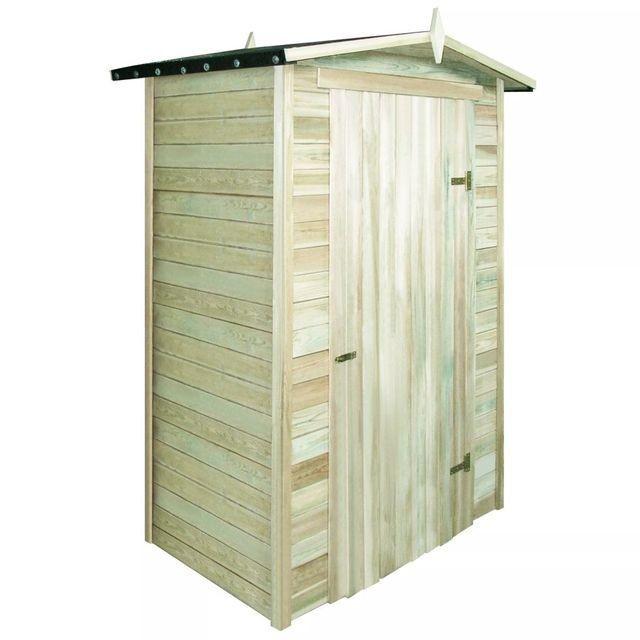 Șopron de grădină din lemn de pin tratat 150x100x210 cm
