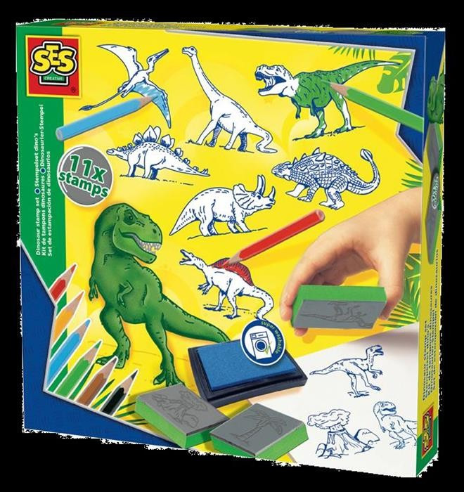 Ses Creative Set Stampile Dinozauri