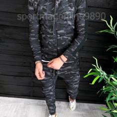 Trening barbati Camuflaj US ARMY - Bluza si Pantaloni Conici - Calitate Premium, L, M, S, XL, Nike