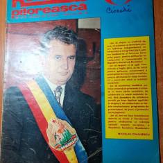Romania pitoreasca aprilie 1974-ceausescu este ales primul presedinte al tarii