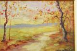 Pictura tablou vechi semnat Constantin