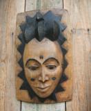 MASCA VECHE TRIBALA  AFRICANA / RARITATE