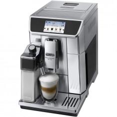 Espressor automat DeLonghi Primadona Elite ECAM 650.75MS, 1450 W, 15 bar, 1.8 l, carafa lapte, display LCD, argintiu