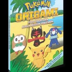 Pokemon Origami: Fold Your Own Alola Region Pokemon