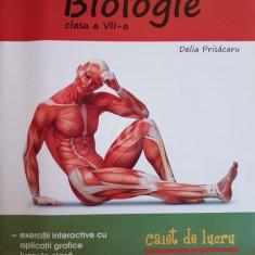 Biologie, clasa a VII-a. Caiet de lucru