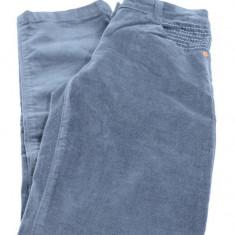 Pantaloni din catifea pentru fete-Wenice AN250909-2G, Antracit