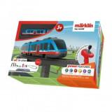 Cumpara ieftin Tren de calatori cu telecomanda si accesorii Fun Airport Express