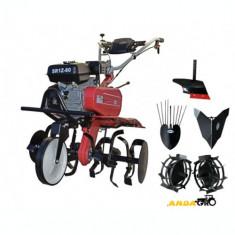 Motocultor Dakard SR1Z-80 - Roti metal,Plug Arat,Plug Cartofi,rarita fixa, 7 CP, DKD