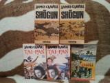 SHOGUN/TAI PAI/CHANGI-JAMES CLAVELL (5 VOL)