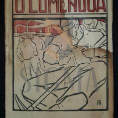 GALACTION GALA (GRIGORE PISCULESCU) - O LUME NOUA (Coperta de N. TONITZA !), 1919, Bucuresti